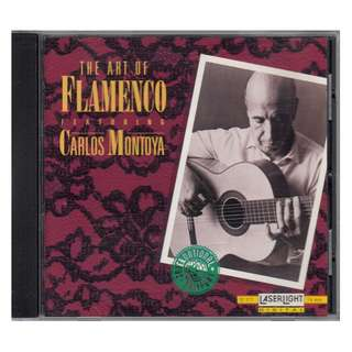 Carlos Montoya: <The Art of Flamenco> 1993 CD (made in USA)