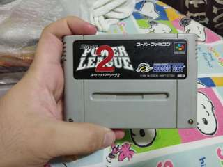 Power League 2 Super Famicom Cassette