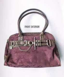 ✂️SALES✂️ CHAPS Maroon Satchel Bag