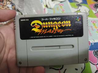 Dungeon Master Super Famicom Cassette