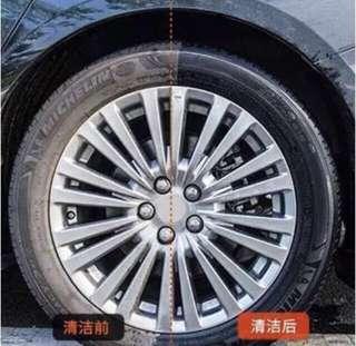 汽車用品 輪呔 光亮劑 洗車 汽車保養 汽車美容 輪胎