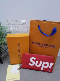 LV Supreme Purse