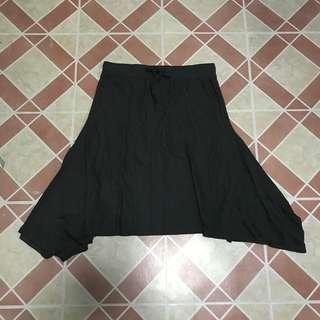 Flowy Moss Green Skirt