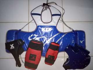 Taekwondo Gear for sale with free bag and student's handbook
