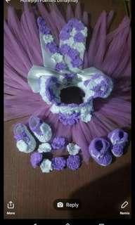 Crochet top tutu dress