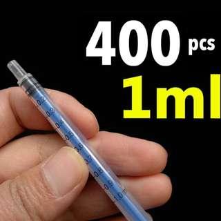 1ML Needled Syringes 400Pcs (Brand New)
