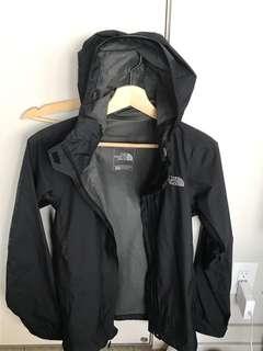North face rain jacket size small