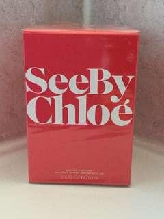 Seeby Chloe Eau de Parfum. 75ml . Sealed in box.