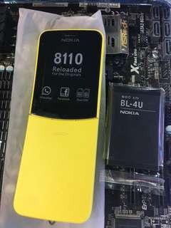 Nokia 蕉  全新 叉充 彩盒 鋰電池