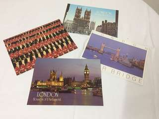 LONDON Postcards collectible