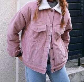 Bomber Pink Pastel Jacket