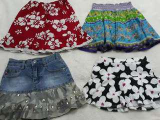 Girls skirt bundle