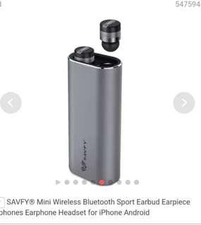 DEAL!! Savfy True Wireless Mini Earbuds!!