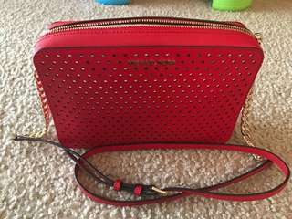 MICHAEL KORS Crossbody Red