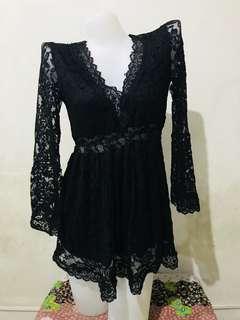 Sexy classy black dress