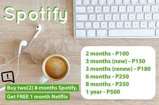 Spotify and Netflix
