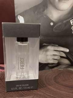美國帶回A&F 全新15ml Fierce 店香香水隨身瓶款
