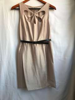Brand new light shade of pink dress size S
