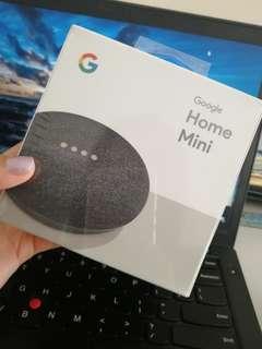 Brand New Google Home Mini (Charcoal)