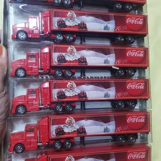 Brandnew Coke coca cola christmas truck collectibles from hongkong