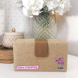 Maybelline make it happen limited edition clutch bag | makeup pouch | box organizer