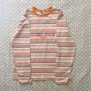 Guess X A$AP Striped Long Sleeve