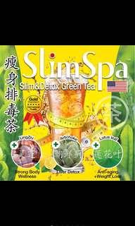 🚚 Slim Spa Detox and Slim Teas