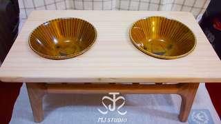 🚚 橡栗子寵物碗架