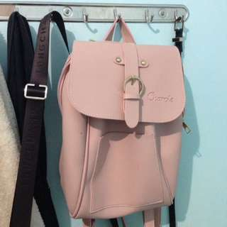 Cute pink 2-way back pack