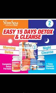 🚚 Slimspa Morning Detox And Night Cleanse