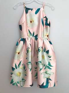 Floral dress from Honey XS
