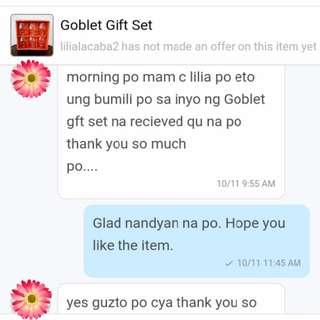 Polite and Appreciative Buyer