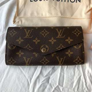 LV 長銀包 Sarah long wallet (NEW)