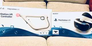🈹PS VR with PS Camera + PS VR Aim Controller + VR gamex3