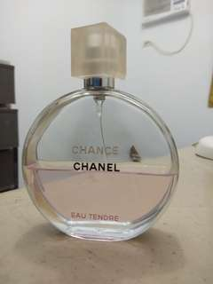 Chanel Chance tester perfume