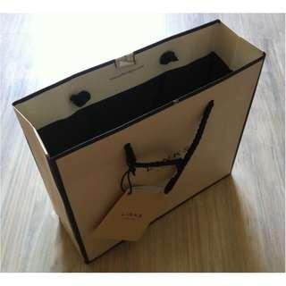 (半價) LINKS LONDON Paper Shopping Gift Bag 紙袋 禮物袋 (Half Price)