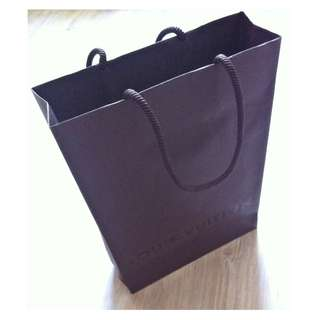 (半價) LOUIS VUITTON Paper Shopping Gift Bag 紙袋 禮物袋 (Half Price)