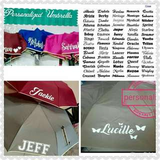 ☔PERSONALIZED AUTOMATIC 2FOLD UMBRELLA☔