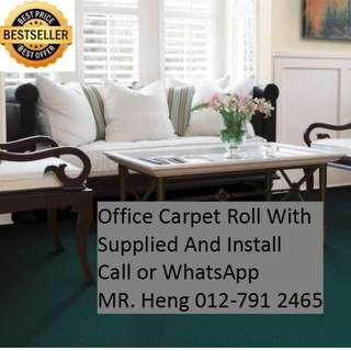 Simpang Office Carpet Roll Call Mr. Heng 012-7912465