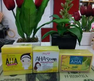 💞AHA WHITENING BOOSTER SOAP💞