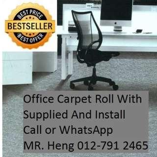 Slim River Office Carpet Roll Call Mr. Heng 012-7912465