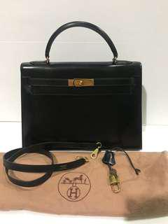 896bc37d69a5 Hermes Kelly 32 Vintage no receipt