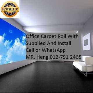 Tanjong Tualang Office Carpet Roll Call Mr. Heng 012-7912465