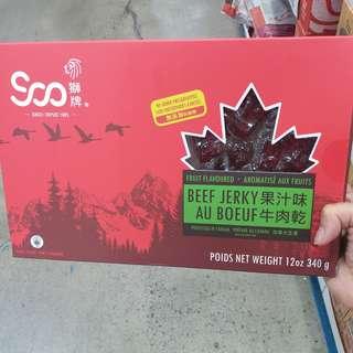 加拿大駐名獅牌牛肉乾