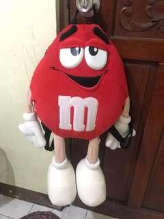 m&m bag