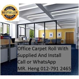 Ulu Bernam Office Carpet Roll Call Mr. Heng 012-7912465