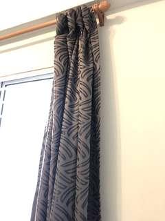 Window curtain + rod