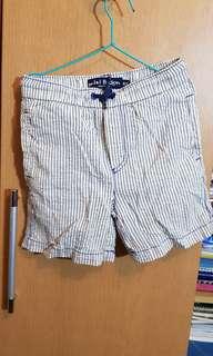 Mini Boden Striped Shorts