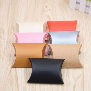 50pcs Pillowshape Gift Box