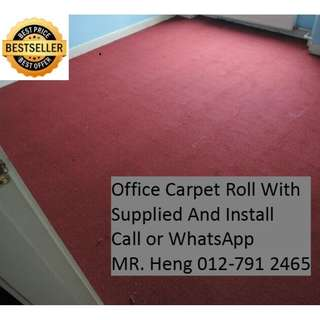Ampang Office Carpet Roll Call Mr. Heng 012-7912465